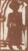 """Christian Rohlfs. """"Spaziergänger"""". 1921"""