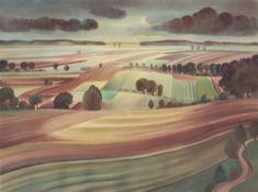 """Christian Arnold. """"Herbstliche Acker"""". 1938"""