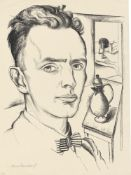 "Max Burchartz. ""Selbstbildnis"". 1920"