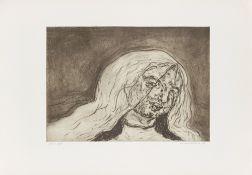 """Marwan. """"Gesicht III"""". 1972"""