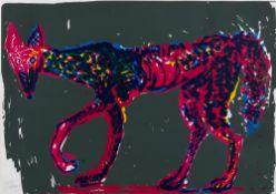 Rainer Fetting. Wolf. 1984