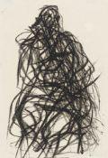"Max Uhlig. ""Skizze Sitzende Figur"". 1987"