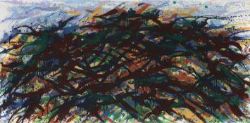 """Max Uhlig. """"Mecklenburger Landschaftsformation (bei Penzlin)"""". 1978"""