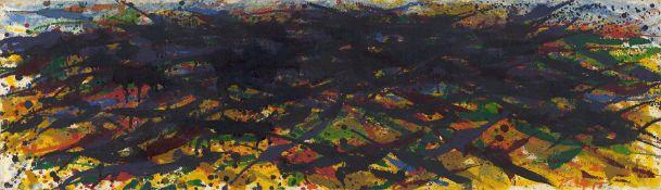 """Max Uhlig. """"Kleine mecklenburgische Landschaft, Georgshöhe"""". 1980"""
