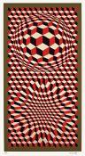 Victor Vasarely. Ohne Titel. 1975