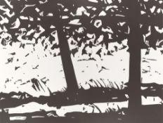 """Alex Katz. """"Maine Woods"""". 2013"""