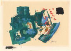 Fritz Winter. Ohne Titel. 1960