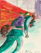 "Rainer Fetting. ""Van Gogh in New York"". 1978"