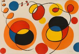 Alexander Calder. Ohne Titel. Um 1970