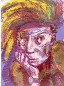 "Rainer Fetting. ""Selbst als Rembrandt II"". 1998"