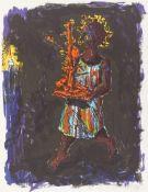"""Jörg Immendorff. Aus: """"Elbquelle"""". 1999"""