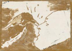 Walter Dahn. Ohne Titel (Hitchcock). 1974/75