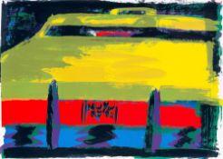 "Rainer Fetting. ""Taxi"". 1992"