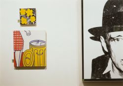 """Louise Lawler. """"A Spot On The Wall"""". 1989/98"""
