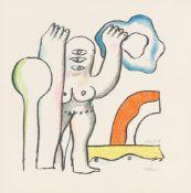 "Horst Antes. Aus: ""On my way now"". 1963/66"