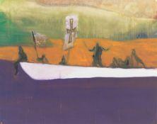Peter Doig. Canoe. 2008