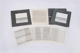 """Agnes Martin. """"Agnes Martin - Paintings and Drawings 1974-1990"""". 1991"""