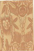 """Raoul Dufy. """"Composition florale exotique II"""". Um 1930"""