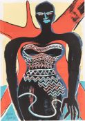 Elvira Bach. Stehende. 1991