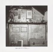 Robert Rauschenberg. Fulton Street Studio N.Y.C.. ca. 1953/1997