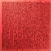 Bernard Aubertin. Tableau Clous. 1970