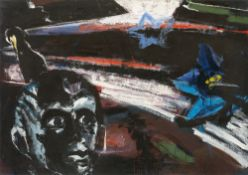 "Bernd Koberling. ""Fjordgestirn"". 1982"