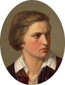 Deutsch, um 1848/49. Porträt eines jungen Mannes.