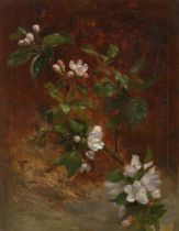 Christian Friedrich Gille. Apfelblüten.