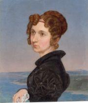 Wilhelm von Kügelgen. Porträt der Schwester Adelheid von Kügelgen. 1827