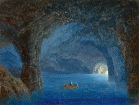 August Kopisch. Die Blaue Grotte. 1848