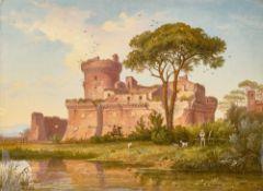 Carl Morgenstern. Das Kastell von Ostia. 1838