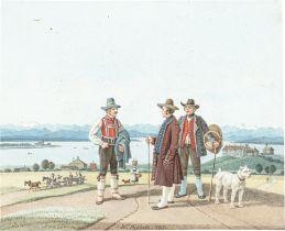 Wilhelm von Kobell. Der Starnberger See. 1845