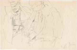 Ilja Jefimowitsch Repin. Zwei russische Offiziere. 1893