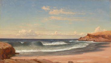 Carl Robert Kummer. Bucht bei Colares (Portugal). (Nach) 1859