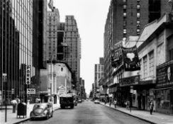 "Thomas Struth. ""West 44th Street New York"". 1978"