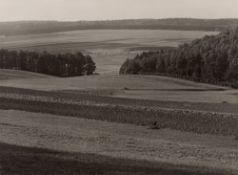 """Albert Renger-Patzsch. """"Hunsrück Landschaft, Nähe Rheinböllen"""". Um 1942"""