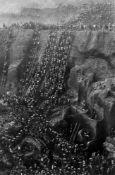"Sebastião  Salgado. ""Brasil"". Gold Mine, Serra Pelada. 1986"
