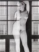 "Heinz Hajek-Halke. ""Aktmodell"". Um 1957"