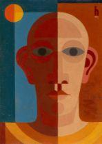 """Heinrich Hoerle. """"Selbstbildnis"""". 1931"""
