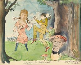 "Willi Bongard. ""Idill aus dem Westerwald"". 1924"