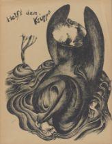 """Heinrich Hoerle. """"Die Krüppelmappe"""". 1920"""