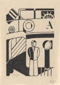 """Gerd Arntz. """"Schiff"""". 1926"""