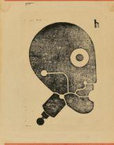 """Heinrich Hoerle. """"Prothesenkopf"""". Um 1925"""