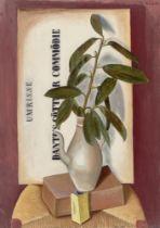 """Richard Seewald. """"Stilleben mit Lorbeer"""". 1928"""