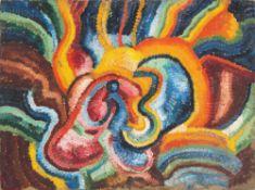 "Wilhelm Morgner. ""Astrale Composition XVI. 1912"