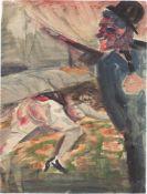 """Otto Dix. """"Scene I"""". 1922"""