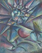 """Johannes Molzahn. """"Musik"""". 1916"""
