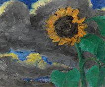 """Emil Nolde. """"Sonnenblume"""". 1928"""