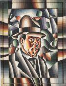 """Arthur Segal. """"Selbstporträt"""". 1921"""