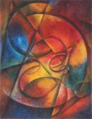 """Thomas Ring. """"Roter Gong"""" / """"Rote Stimme"""". 1920"""